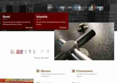 Updated Desktop Page
